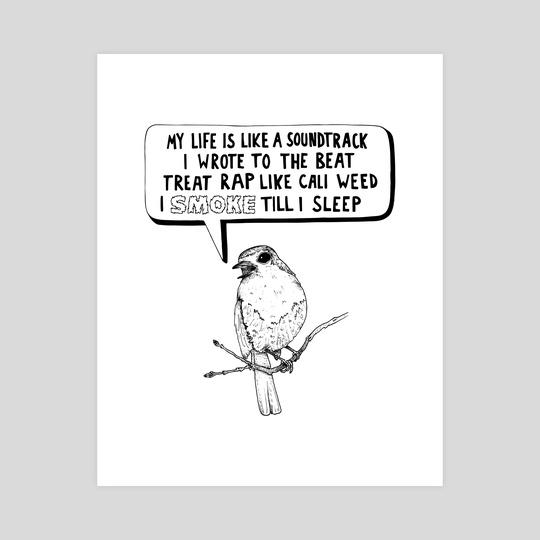 High as a Bird by Sam Haidemenos