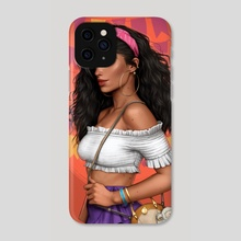 Esmeralda - Phone Case by Fernanda Suarez