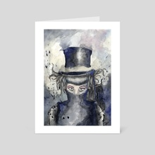 The Hatter - Art Card by Doménico Talarico