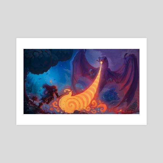 Beware of Dragon by Luke Clough