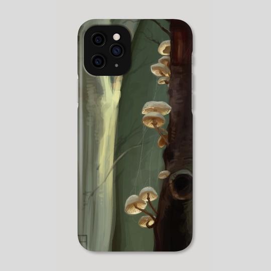 Mushrooms Study by Paula Collins