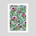 Frosty Florals - Art Print by 83 Oranges