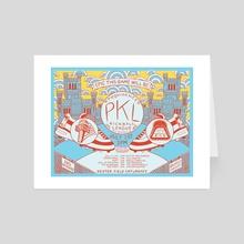 PKL Season 16 Week 6 - Art Card by Dan Freitas