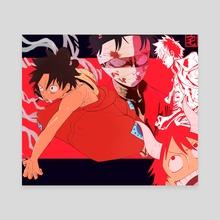 Wano Luffys - Canvas by Taku Waku