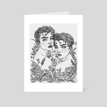 Eden - Art Card by fioridimercurio