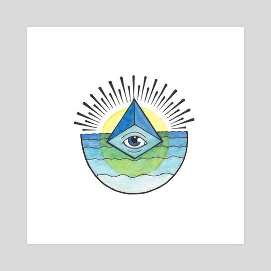 Blue Eye by Kristen Jussila