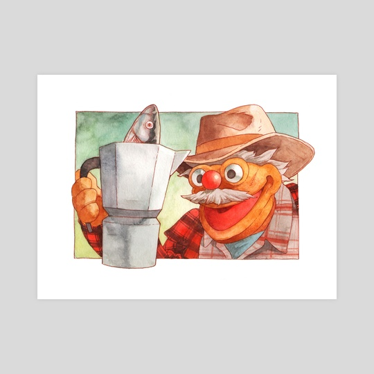 There Was a Fish in the Percolator...and it Came Back to Me! by Justin DeVine