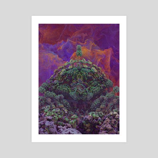 Alien Temple by Mitchell Flautt