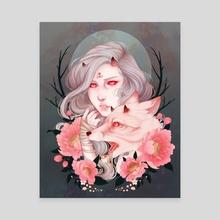 scavenge - Canvas by Viktoria Dekay