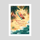 June - Art Print by Simini Blocker