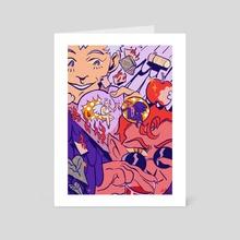 The Arrangement  - Art Card by Diigii Daguna