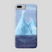 Iceberg - Phone Case by Sady M. Izé