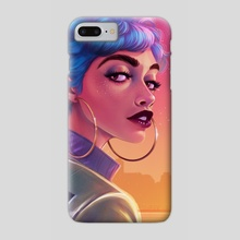 Neon Dreams - Phone Case by Crystal Wall Lancaster
