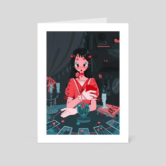 fortune-teller by mawa wiz