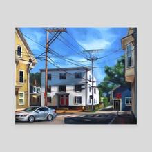 Salem Summer - Canvas by Martha Wirkijowski