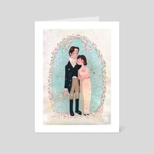 Lizzie&Darcy - Art Card by Fefê Torquato