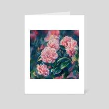 Roses - Art Card by Sara Wilson