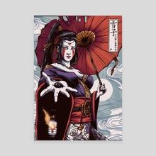 Yukiko - Canvas by Jhony Caballero