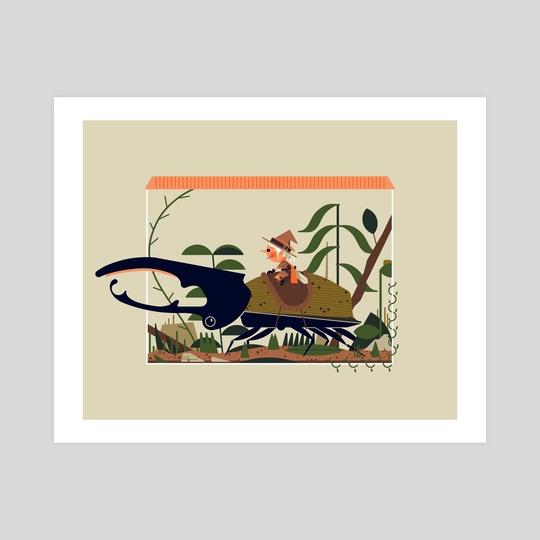 Hercules Beetle by shafer brown