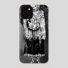 Bloodborne (BW) - Phone Case by Artyom Trakhanov
