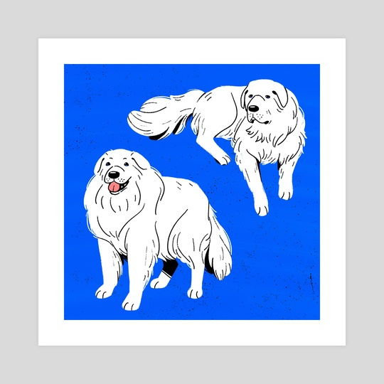 Great Pyrenees by Smitukey
