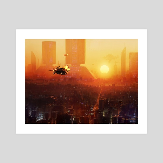 Blade Runner Future by Brennan Massicotte