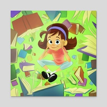 Matilda - Acrylic by Dylan Holden