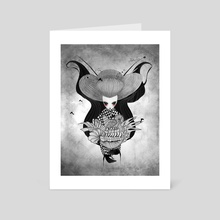 Iku Sorceress - Art Card by Joanna Czadowska