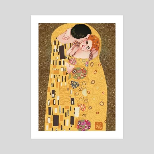 The Kiss by Dixie Leota