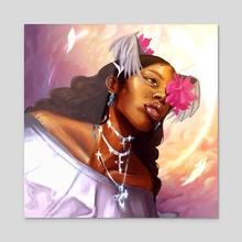 Legend - Acrylic by krazed kai