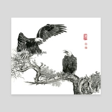 Eagle - 22 - Canvas by River Han