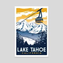 lake tahoe california - Canvas by matt schnepf