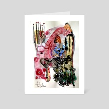 Butterfly effect - Art Card by Anna Tsvell