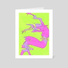 Dissolving - Art Card by Joanna Krótka