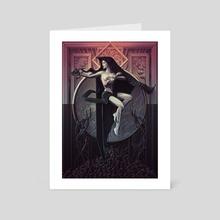Beginnings and Endings - Art Card by Lee Dotson