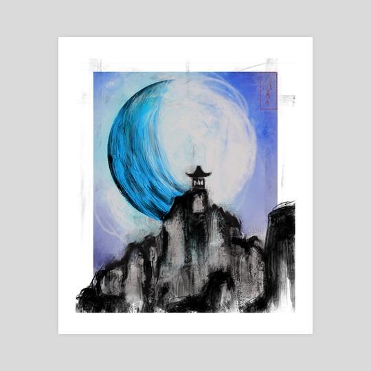 Blue Moon by Reinaldo Rodriguez