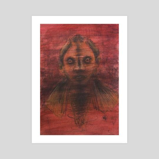 Uncertain girl by Tatiana Kotelnikova