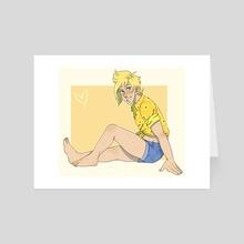 Sunflower - Art Card by Kit Cooper