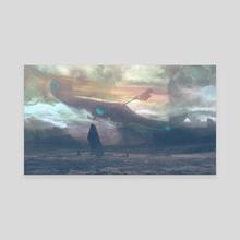 Cursed Wanderer - Canvas by Sammy Hall