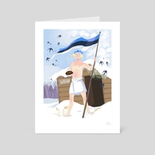 The Estonian - Art Card by Darina Nossova