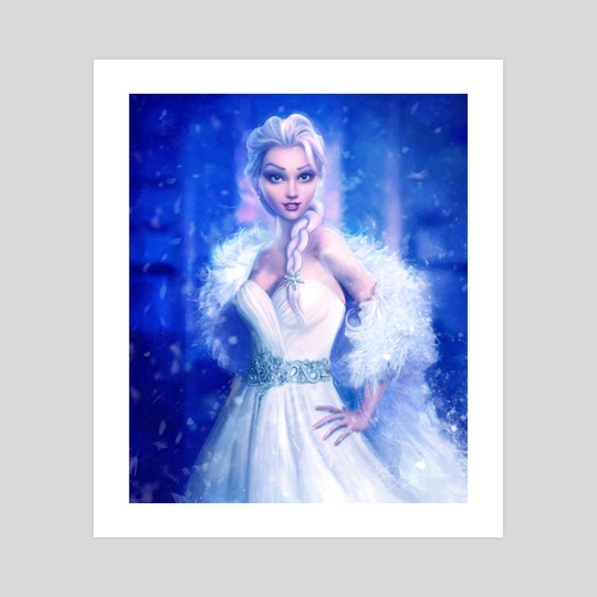 Elsa, Frozen by Joe Roberts