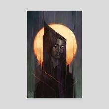 Dorian Pavus II - Canvas by Annie Bass