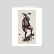 Tribe_03 - Art Card by Piotr Jabłoński