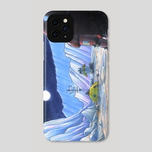 Flogorian Moon - Phone Case by Ugly Ink