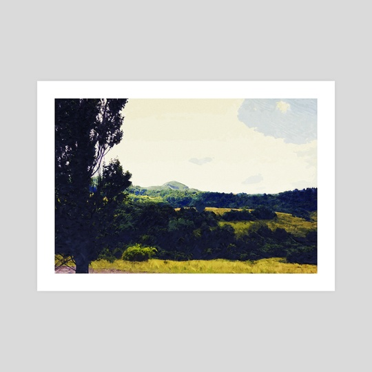 Mountains Part 2 by Nazar Hrabovyi
