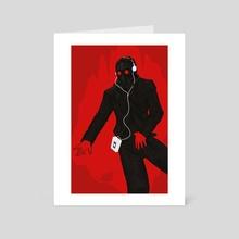 Starlord Ipod Print - Art Card by Brandon Leach