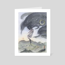 Silence of the Night - Art Card by Hope Doe