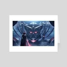 Gundam X Darth Vader - Art Card by Art Of Asher