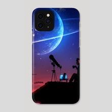 Star Gazer - Phone Case by Mohamed Saad