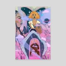 Daydream - Canvas by Kenna Reid